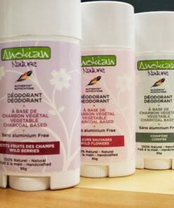 Déodorants naturels Anokian Nature