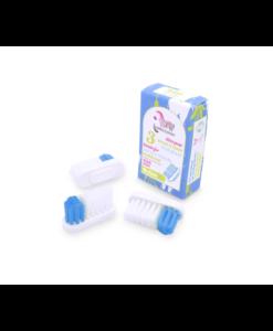 Recharge 3 têtes pour brosse à dents rechargeable, médium