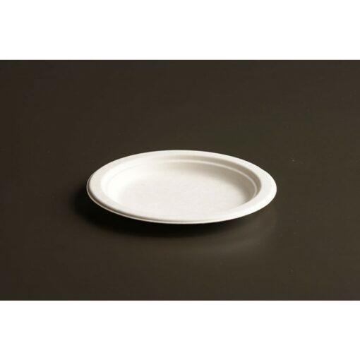 Assiettes Compostables en Bagasse - 6pouces