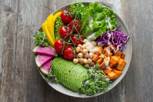 salade jeunes pousses