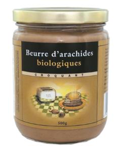 Beurre d'Arachides croquant