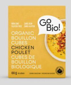 Cubes de bouillon au poulet - GoBio!