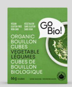 Cubes de bouillon de légumes - Gobio