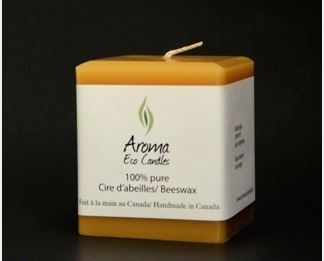 Bougie Carrée Aroma Candles