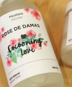 Micellaire à la rose de damas