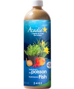 engrais naturel liquide acadie (Acti-sol) hydrolysat de poisson