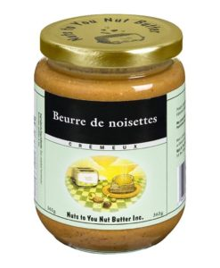 beurre de noisettes nuts to you