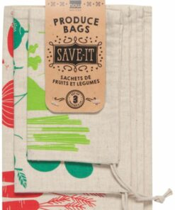 Sachets de fruits et légumes - Now designs