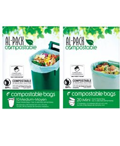 Sacs compostables