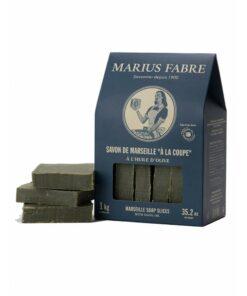 Savon de marseille a la coupe Marius Fabre 1 kg